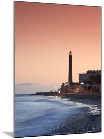 Canary Islands, Gran Canaria, Maspalomas, Faro De Maspalomas (Maspalomas Lighthouse)-Michele Falzone-Mounted Photographic Print