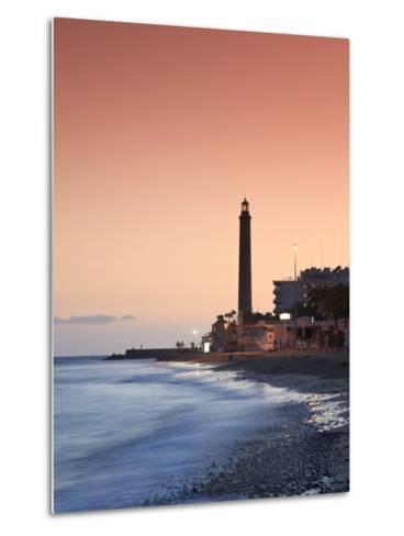 Canary Islands, Gran Canaria, Maspalomas, Faro De Maspalomas (Maspalomas Lighthouse)-Michele Falzone-Metal Print