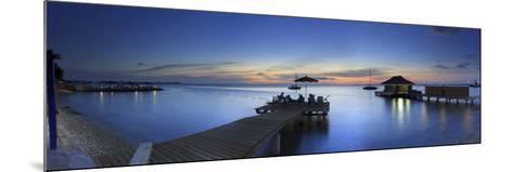Caribbean, Netherland Antilles, Bonaire, Beach Resort-Michele Falzone-Mounted Photographic Print