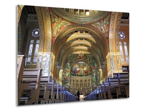 Basilica of St; Therese, Lisieux, Calvados Departement, Lower Normandy, France-Ivan Vdovin-Metal Print