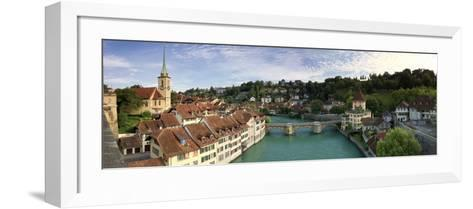 Switzerland, Bern, Old Town and Aare River-Michele Falzone-Framed Art Print