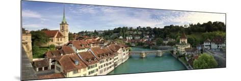 Switzerland, Bern, Old Town and Aare River-Michele Falzone-Mounted Photographic Print