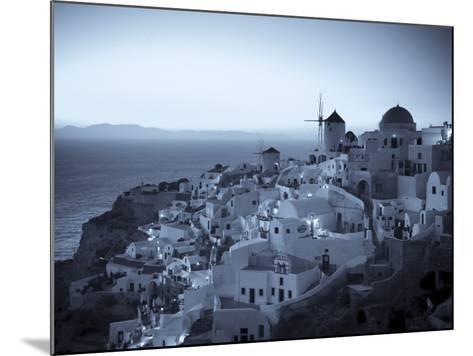 Greece, Cyclades, Santorini, Oia Town and Santorini Caldera-Michele Falzone-Mounted Photographic Print