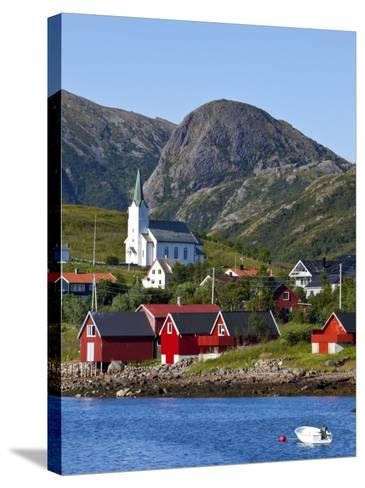 The Harbour Town of Malnes, Vesteralen, Nordland, Norway-Doug Pearson-Stretched Canvas Print