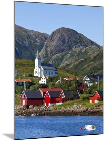 The Harbour Town of Malnes, Vesteralen, Nordland, Norway-Doug Pearson-Mounted Photographic Print