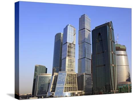 Moscow International Business Center (Moscow-City), Moscow, Russia-Ivan Vdovin-Stretched Canvas Print