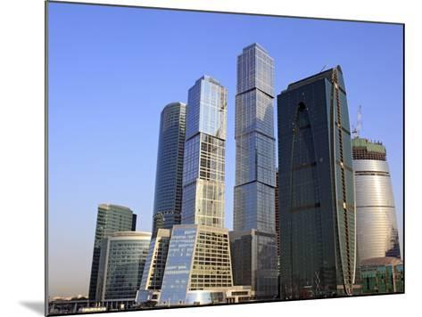 Moscow International Business Center (Moscow-City), Moscow, Russia-Ivan Vdovin-Mounted Photographic Print