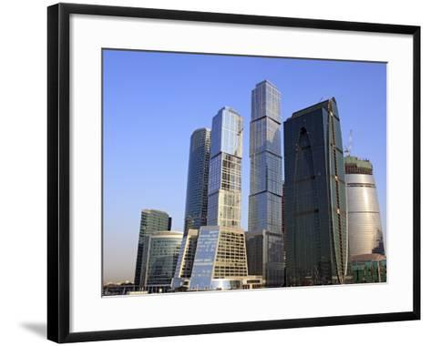 Moscow International Business Center (Moscow-City), Moscow, Russia-Ivan Vdovin-Framed Art Print