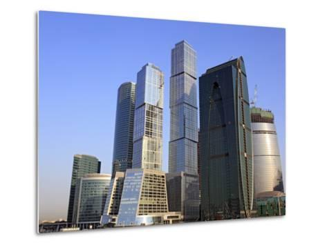 Moscow International Business Center (Moscow-City), Moscow, Russia-Ivan Vdovin-Metal Print