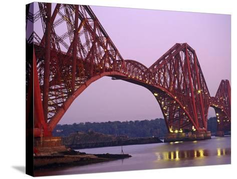 The Forth Rail Bridge, Firth of Forth, Edinburgh, Scotland;-Paul Harris-Stretched Canvas Print