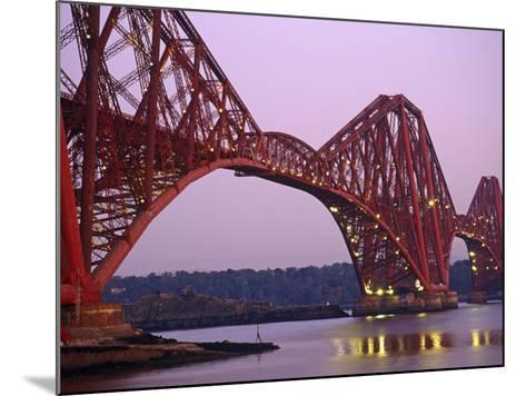 The Forth Rail Bridge, Firth of Forth, Edinburgh, Scotland;-Paul Harris-Mounted Photographic Print