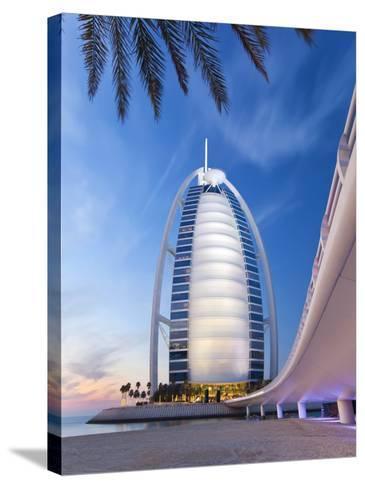 Burj Dubai Hotel, Dubai, Uae, United Arab Emirates-Gavin Hellier-Stretched Canvas Print