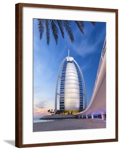 Burj Dubai Hotel, Dubai, Uae, United Arab Emirates-Gavin Hellier-Framed Art Print