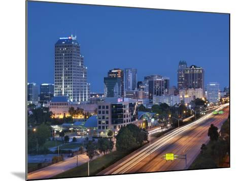 Usa, Florida, Orlando, Downtown Skyline and Interstate 4-John Coletti-Mounted Photographic Print