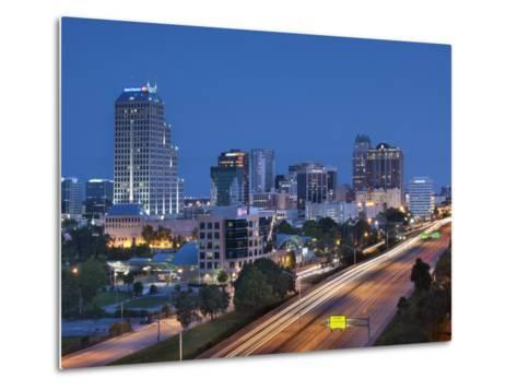 Usa, Florida, Orlando, Downtown Skyline and Interstate 4-John Coletti-Metal Print