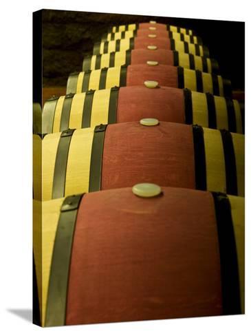 Wine Celler in Catalonia, Spain-Carlos Sanchez Pereyra-Stretched Canvas Print