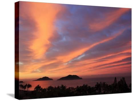 Sunrise, Mazatlan, State Sinaloa, Mexico-Ivan Vdovin-Stretched Canvas Print