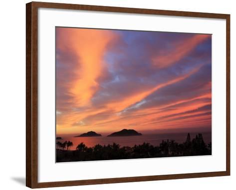 Sunrise, Mazatlan, State Sinaloa, Mexico-Ivan Vdovin-Framed Art Print