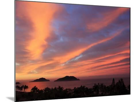 Sunrise, Mazatlan, State Sinaloa, Mexico-Ivan Vdovin-Mounted Photographic Print
