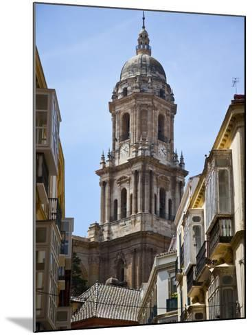 Tower of the Cathedral of Malaga, Andalusia, Spain-Carlos S?nchez Pereyra-Mounted Photographic Print
