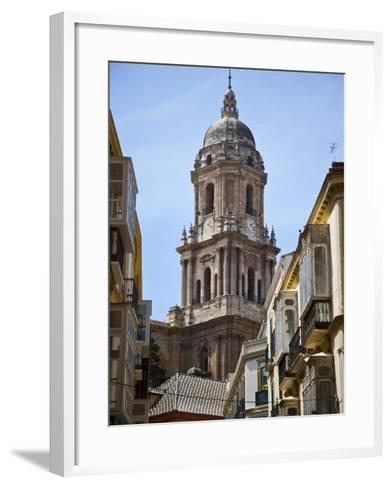 Tower of the Cathedral of Malaga, Andalusia, Spain-Carlos S?nchez Pereyra-Framed Art Print