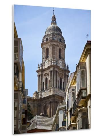 Tower of the Cathedral of Malaga, Andalusia, Spain-Carlos S?nchez Pereyra-Metal Print