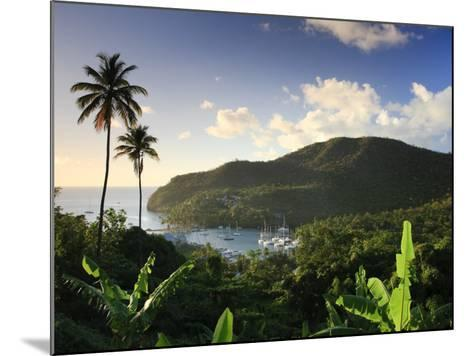 Caribbean, St Lucia, Marigot Bay and Harbour-Michele Falzone-Mounted Photographic Print