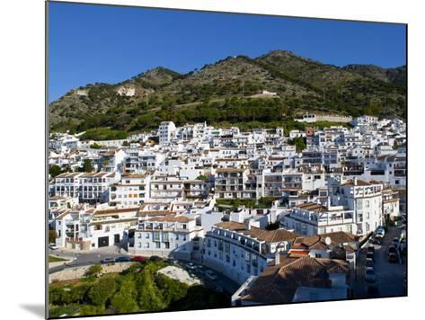 View of Mijas, White Town in Costa Del Sol, Andalusia, Spain-Carlos S?nchez Pereyra-Mounted Photographic Print