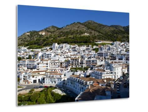 View of Mijas, White Town in Costa Del Sol, Andalusia, Spain-Carlos S?nchez Pereyra-Metal Print