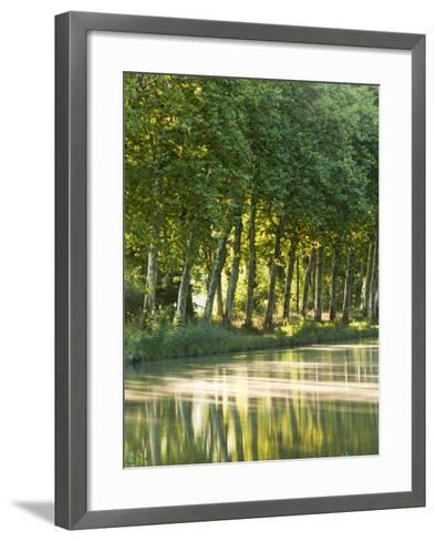 France, Languedoc-Rousillon, Canal Du Midi-Katie Garrod-Framed Art Print