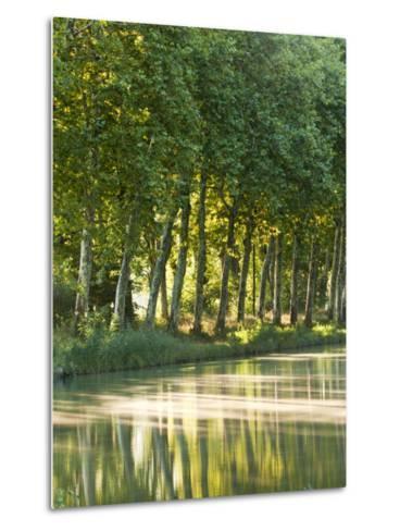 France, Languedoc-Rousillon, Canal Du Midi-Katie Garrod-Metal Print