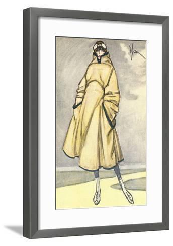 Aviatrix Outfit--Framed Art Print