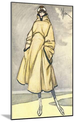 Aviatrix Outfit--Mounted Art Print