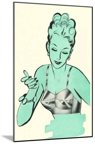 Brassiere Advertisement--Mounted Art Print