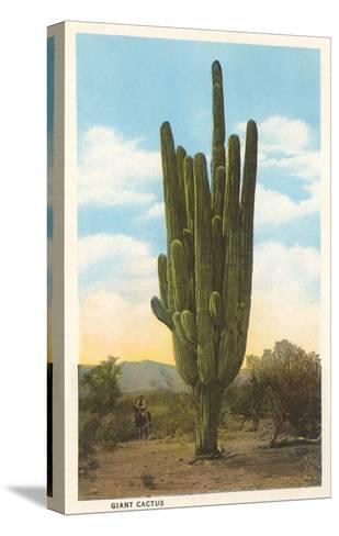 World's Largest Saguaro Cactus--Stretched Canvas Print