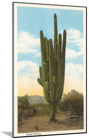 World's Largest Saguaro Cactus--Mounted Art Print