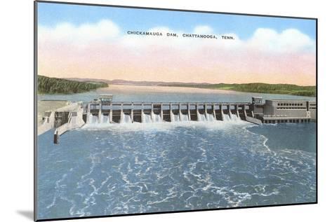 Chickamauga Dam, Chattanooga, Tennessee--Mounted Art Print