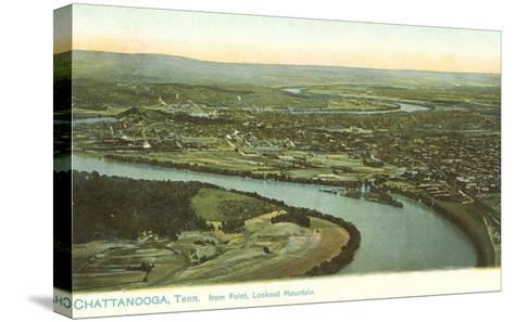 River Bend, Chattanooga, Tennessee--Stretched Canvas Print