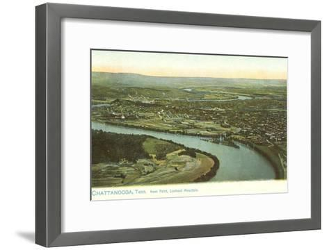 River Bend, Chattanooga, Tennessee--Framed Art Print