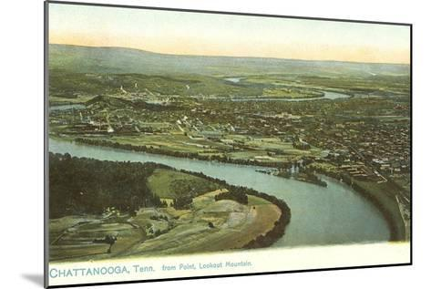 River Bend, Chattanooga, Tennessee--Mounted Art Print