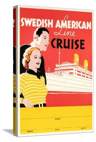 Cruise Travel Poster--Stretched Canvas Print