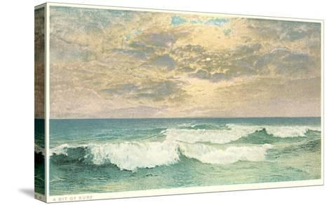 Simple Seascape--Stretched Canvas Print