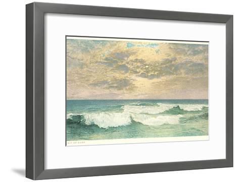 Simple Seascape--Framed Art Print