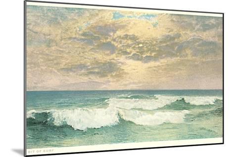 Simple Seascape--Mounted Art Print