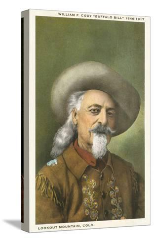 Buffalo Bill--Stretched Canvas Print