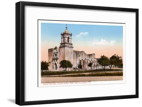 Mission San Jose, San Antonio, Texas--Framed Art Print