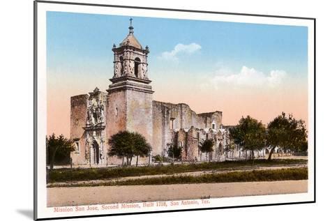 Mission San Jose, San Antonio, Texas--Mounted Art Print