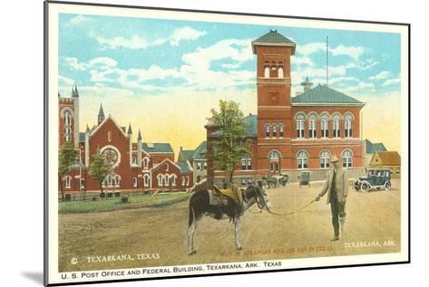 Post Office and Federal Building, Texarkana, Texas--Mounted Art Print