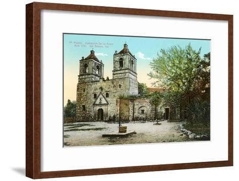 Mission Concepcion de la Acuna--Framed Art Print