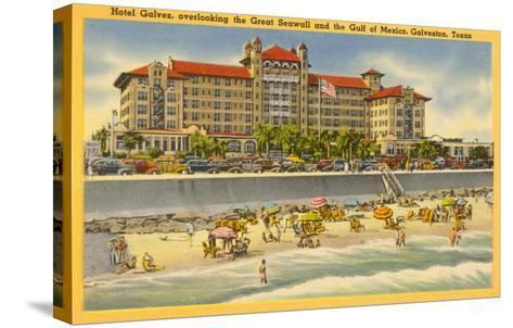 Hotel Galvez, Galveston, Texas--Stretched Canvas Print